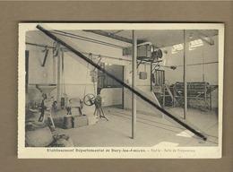 CPA Provenant D'un Carnet - Etablissement Départemental De Dury Les Amiens -  Etable - Salle De Préparation - France