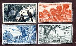 AEF PA N°50/53 N** Luxe Cote 85 Euros !!!RARE - A.E.F. (1936-1958)