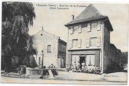 CHAMPIER  (Isère) Quartier De La Fontaine  Hotel Laurencin - Autres Communes