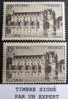 LOT R1752/144 - 1944 - N°610a Et 610b NEUFS* ☛ Timbre Signé BRUN Expert ☛☛☛ DEPART A MOINS DE 20% DE LA VALEUR CATALOGUE - France