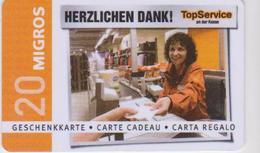 GIFT CARD - SWITZERLAND - MANOR 276 - Gift Cards