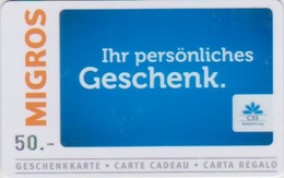 GIFT CARD - SWITZERLAND - MANOR 278 - CSS - Gift Cards