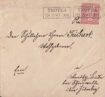NDP Brief EF Minr.16 R2 Trotha 18.12 - Norddeutscher Postbezirk