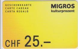 GIFT CARD - SWITZERLAND - MANOR 281 - Gift Cards