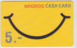 GIFT CARD - SWITZERLAND - MANOR 284 - Gift Cards