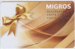 GIFT CARD - SWITZERLAND - MANOR 289 - Gift Cards