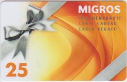 GIFT CARD - SWITZERLAND - MANOR 290 - Gift Cards
