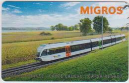 GIFT CARD - SWITZERLAND - MANOR 291 - TRAIN - Gift Cards