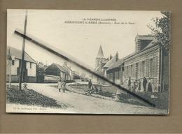 CPA Rétrécit - Méricourt L'Abbé - (Somme) - Rue De La Gare - La Picardie Illustrée - France