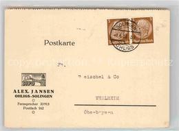 42766688 Ohligs Alex Jansen Fabrik Solingen - Solingen
