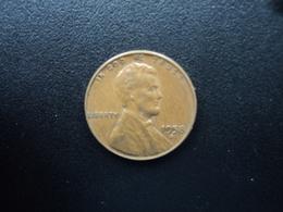 ÉTATS UNIS D'AMÉRIQUE : 1 CENT  1958 D   KM A132    SUP - Federal Issues