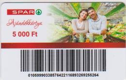 GIFT CARD - HUNGARY - SPAR 10 - 5 000FT - Gift Cards
