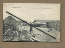 CPA  -  Herbécourt - (Somme) - Ancien Camp De Prisonniers Utilisé Pour La Reconstruction - France