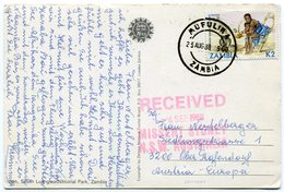 Zambia - Postcard - Carte Postale - Zambia (1965-...)