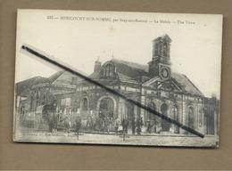 """CPA  Rétrécit - Méricourt Sur Somme , Par Bray Sur Somme - La Mairie - The Town - """"Le Bon Médecin Dans La Famille"""" - France"""