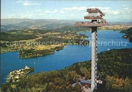 72112594 Klagenfurt Woerthersee Pyramidenkogel Aussichtsturm - Österreich