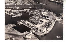 CPSM - LE HAVRE  (S. - Mar.)   Vue Aérienne. à Gauche, Des Bassins De La Citadelle Et Des Petites Cales Sèches. - Harbour