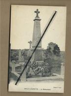 CPA  Souple  -  Sailly Laurette - Le Monument - France