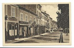71/ SAONE Et LOIRE... CHAUFFAILLES. Rue Centrale... GARAGE, Plaques Publicitaires AZUR, CITROEN... - France