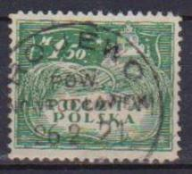 POLONIA  1919  POLONIA DEL NORD YVERT. 168  USATO VF - 1919-1939 Repubblica