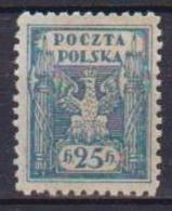 POLONIA  1919  POLONIA DEL SUD YVERT. 189 MLH VF - 1919-1939 Repubblica
