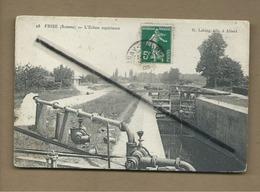 CPA  - Frise - (Somme ) - L'écluse Supérieure - France