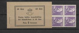 1939 MNH Booklet Mi 256-I-B, Sweden, Postfris - Boekjes