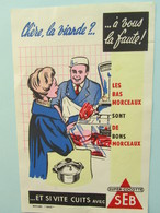 Buvard SEB Super-cocotte Viande Boucher - Blotters