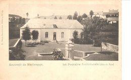 Hainaut - CPA - Morlanwelz - Souvenir De Mariemont - La Fontaine Archiducale - Châteaux