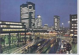Essen - Hochhäuser An Der Freiheit - Nachtansicht  -   (wz-Dos-0062) - Essen