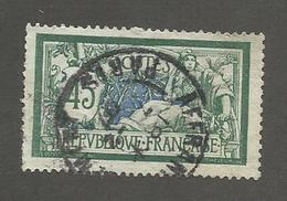 FRANCE - N°YT 143 OBLITERE CAD PARIS AFFRANCHISSEMENT - COTE YT : 2.50€ - 1907 - 1900-27 Merson