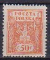 POLONIA  1922-23 EMESSO PER IL TERRITORIO DELL'ALTA SILESIE YVERT. 246 MLH VF - 1919-1939 Repubblica
