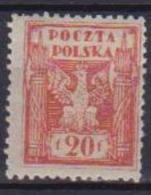 POLONIA  1922-23 EMESSO PER IL TERRITORIO DELL'ALTA SILESIE YVERT. 244 MLH VF - 1919-1939 Repubblica