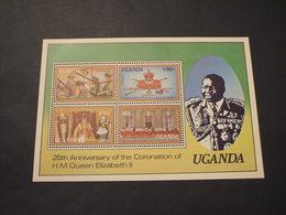 UGANDA - BF 1978 REGINA  - NUOVI(++) - Uganda (1962-...)