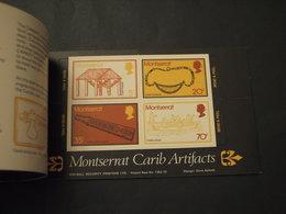 MONTSERRAT - LIBRETTO 1975 ARTE CARAIBICA 2,95 D.  - NUOVI(++) - Montserrat