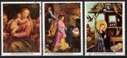 CIAD - 1973 - Christmas - PAINTINGS - USATI - Ciad (1960-...)