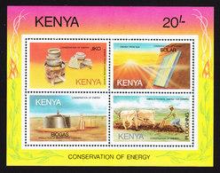 Kenya, Scott #338, Mint Never Hinged, Energy Conservation, Issued 1985 - Kenya (1963-...)