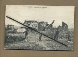 CPA  Rétrécit , Très Souple - Frise -  Les Ruines De La Râperie - France