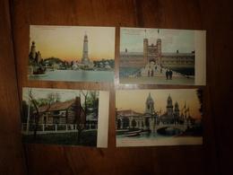 Lot De 4 CPA  ( LOUISIANA PURCHASE EXPOSITION St- LOUIS 1904 ) - Cartes Postales