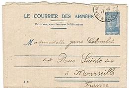 FRANCHISE MILITAIRE - ORIENT - CORFOU - CORRESPONDANCE MILITAIRE  - T&P 501 - CLFM - WW1 - 1916 - - Cartes De Franchise Militaire