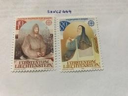 Liechtenstein Europa 1983 Mnh - Liechtenstein