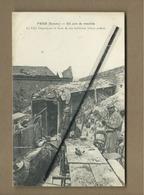 CPA   - Frise - (Somme) - Un Coin De Tranchée - La Villa Beauséjour Et Deux De Ses Habitants (Vieux Poilus ) - France