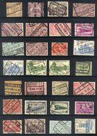 Y42 - Belgium - Railway Parcel Stamps - Used Lot - Bahnwesen