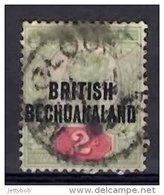 BECHUANALAND 1891 QV 2d BRITISH BECHUANALAND Overprint On GB Stamp Used - Bechuanaland (...-1966)