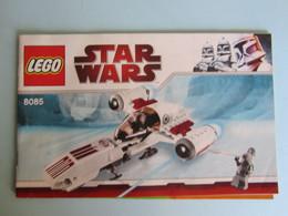 LEGO  Star Wars N° 8085  Notice De Montage - Plans