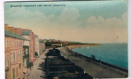UK-3022   EXMOUTH : Moreton Cresent And Front - Other