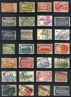 Y43 - Belgium - Railway Parcel Stamps - Used Lot - Bahnwesen