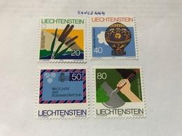 Liechtenstein Mixed Issue 1983 Mnh - Liechtenstein
