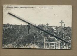 CPA  Souple , Abîmée  - Etinehem  - (Somme) - Une Partie Du Cimetière Militaire De La Cote 80 - Military Cemetery - France