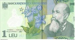 ROMANIA 1 LEU 2005 (2014) P-117 UNC [RO117] - Romania